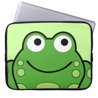 Happy Frog Laptop Sleeve