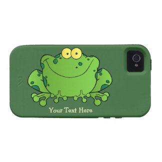 Happy Frog (personalized) Case iPhone 4 Cases