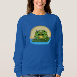 Happy Frog Women's Sweatshirt