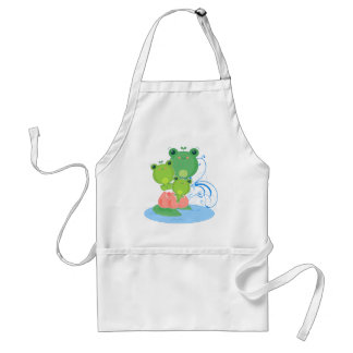 Happy Frogs Standard Apron