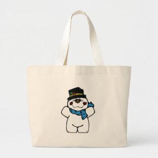 happy frost snowman bags