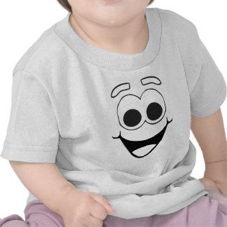 happy funny face tee shirts