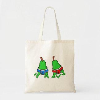 Happy Gay Pride Couple Pears