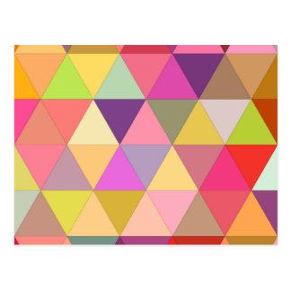 Happy geometry postcard