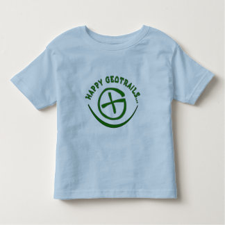 HAPPY GEOTRAILS - GEOCACHING MOTTO TODDLER T-Shirt