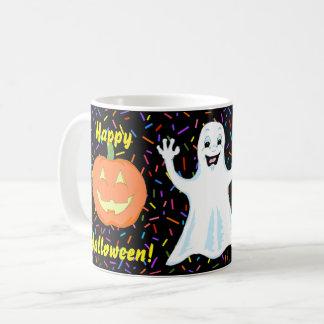 Happy Ghost Halloween Mug