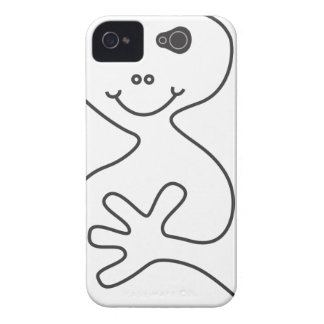Happy Ghost iPhone 4/4s Case