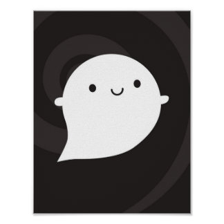 Happy Ghost Poster
