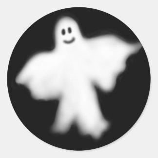 Happy Ghost Sticker
