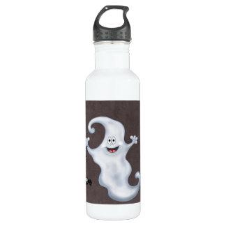 Happy Ghost with Spider Halloween 710 Ml Water Bottle