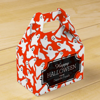 Happy Ghosts Halloween Treats Gift Box