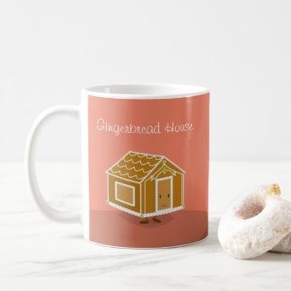Happy Gingerbread House character | Mug