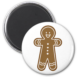 Happy Gingerbread Tall man Magnet