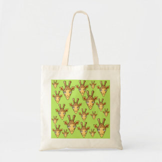 Happy Giraffes. Tote Bag