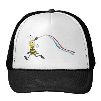 Happy Girl Bee Mesh Hat