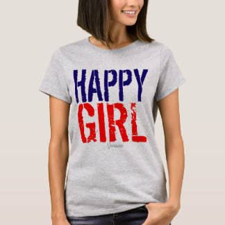 Happy Girl by VIMAGO T-Shirt