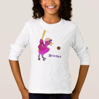 Happy Girl's Baseball by The Happy Juul Company T-Shirt