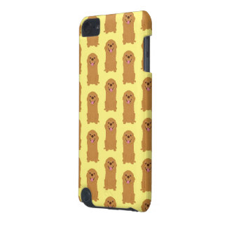 Happy Golden Retriever Illustration iPod Touch 5G Case