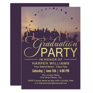 Happy Grads Graduation Party Card