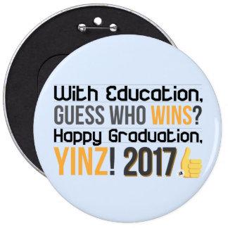 Happy Graduations, Yinz! Mega Pin