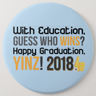 Happy Graduations, Yinz! Mega Pin