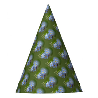 Happy Grandparents Day - Forgetmenot Party Hat
