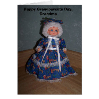 Happy Grandparents Day, Grandma Card