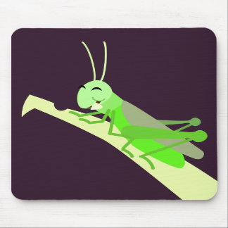 Happy Grasshopper Mousepad