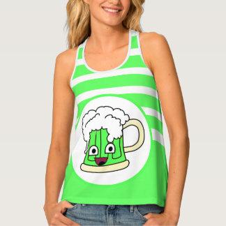 Happy Green Beer Singlet