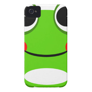 Happy Green Frog iPhone 4 Case-Mate Case