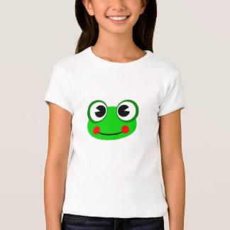 Happy Green Frog Tees