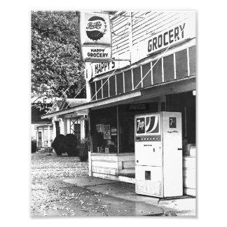 Happy Grocery, Ottawa, Kansas Photo Print