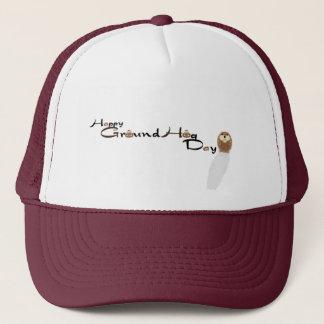 Happy Groundhog day Hat