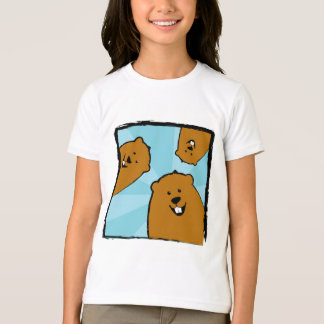 Happy Groundhogs with Smiles T-Shirt