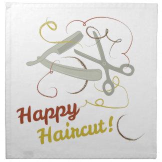 Happy Haircut Napkin