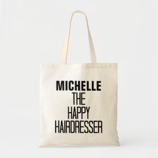 Happy Hairdresser Rhyme Tote Bag
