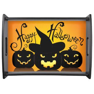 Happy Halloween 8 Serving Tray