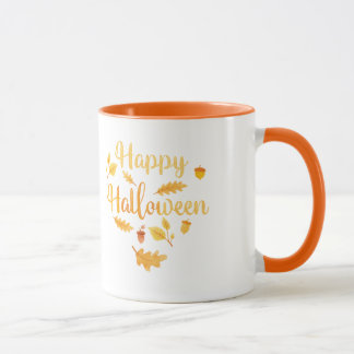 Happy Halloween Autumn Mug