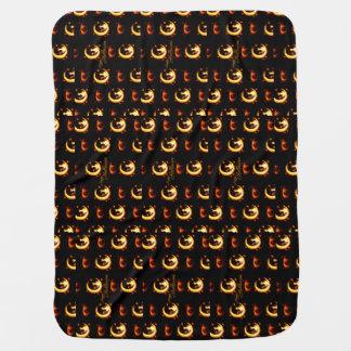 Happy Halloween Baby Blanket