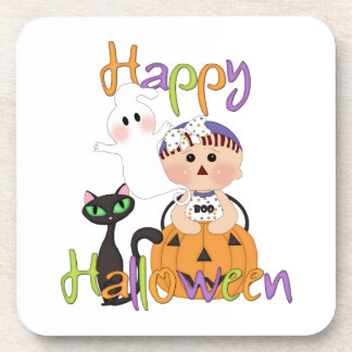 Happy Halloween Baby Friends Coaster