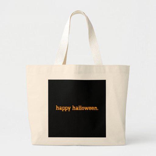 happy halloween. tote bag