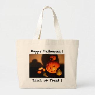 Happy Halloween! Canvas Bags