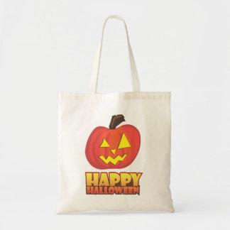 Happy Halloween Canvas Bags