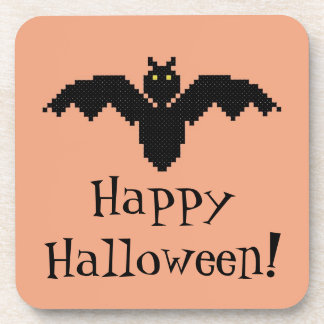 Happy Halloween! Bat Coasters