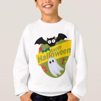 Happy Halloween Bats and Ghosts Sweatshirt