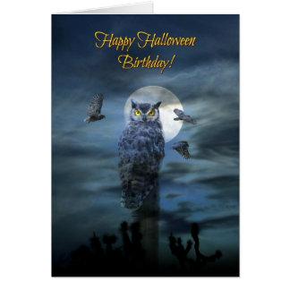 Happy Halloween Birthday Humor Card