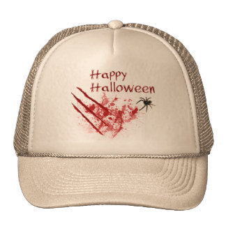 Happy Halloween Bloody Scratches - hat