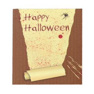 Happy Halloween Bloody Wallpaper - Notepad