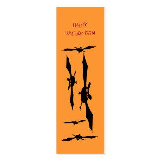 Happy HALLOWEEN Bookmark Business Card