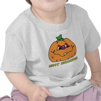 Happy Halloween Boy Pumpkin T-Shirt Tshirt